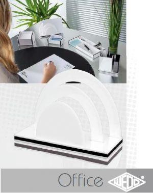 Wedo MONTEGO Letter Support with 2 compartments - поставка за писма с две деления